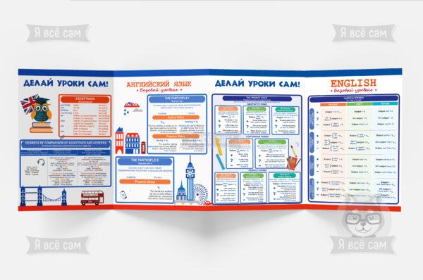 Буклет «Делай все сам» для 5-9 классов. Английский язык: базовый уровень