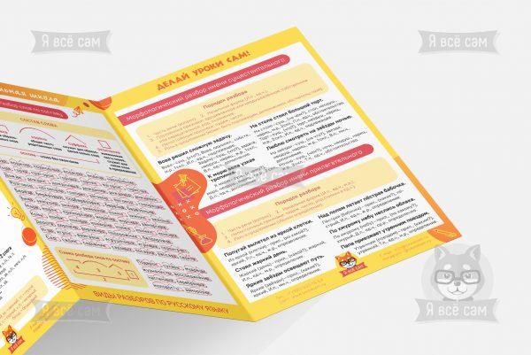 Буклет «Виды разборов по русскому языку в начальной школе»